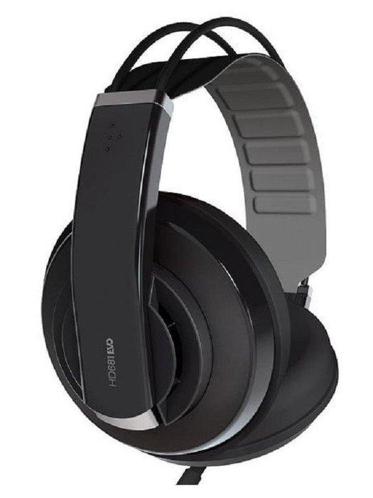 【阿嚕咪電器行】舒伯樂 Superlux HD681 EVO 半封閉式 耳罩式耳機