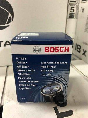 『油工廠』BOSCH P 7181 GOLF JETTA TOURAN 1.2 1.4 TSI 機油芯 03C