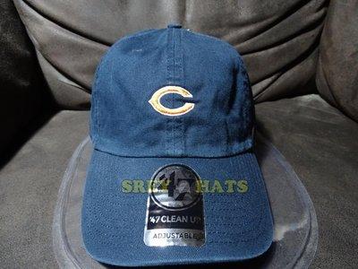 [SREY帽屋]預購*47 Brand CLEAN UP Base Runner 小圖 NFL 芝加哥熊 棒球帽 老帽