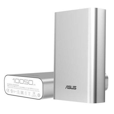 ASUS ZenPower 行動電源 10050mAh 銀色 (ZenFone2可充大於2次)【台中恐龍電玩】