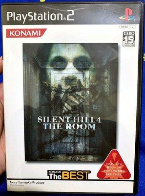 幸運小兔 PS2遊戲 PS2 沉默之丘 4 Silent Hill 密室驚魂 PlayStation2 日版 A8