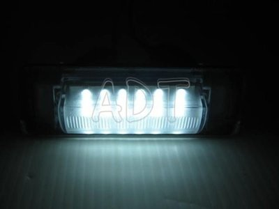 ~~ADT.車燈.車材~~賓士 BENZ W202 W210 94~01年 超亮版18顆LED牌照燈