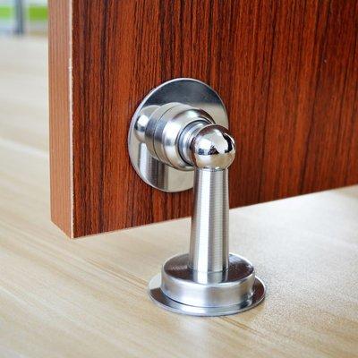 橙子的店  迪福德 免打孔不銹鋼門吸自粘地吸墻吸門頂防撞門碰門擋強磁吸力