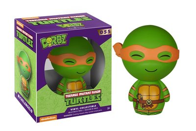 正版 Dorbz - 忍者龜 Teenage Mutant Ninja Turtles (一組6入)