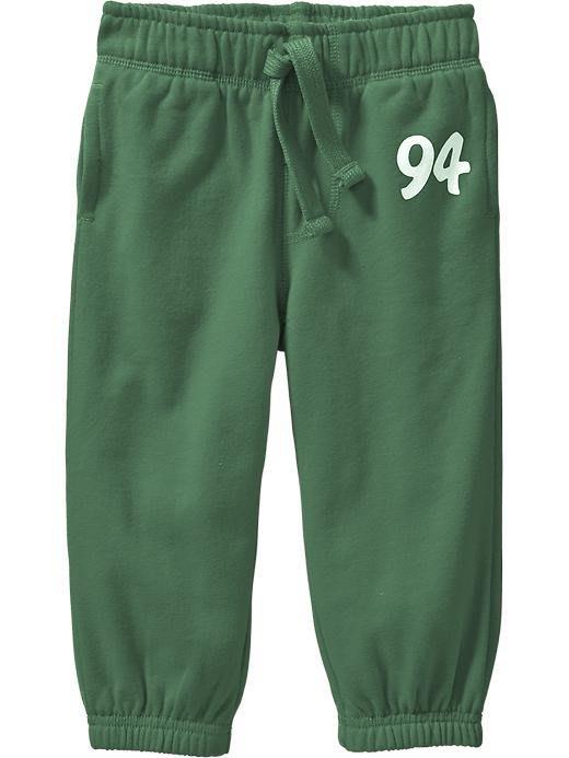【Nichole's歐美進口優質童裝】Old Navy 男童綠色鬆緊帶抽繩束口運動長褲*Carter's/OshKosh