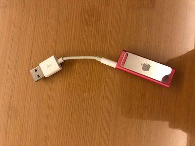 二手良品 Apple ipod shuffle 第3代 2G 粉紅色(付電腦傳輪線) 型號:A1272 2009年
