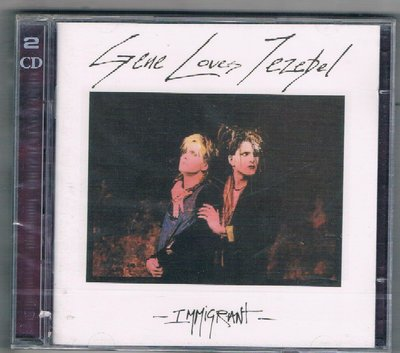 [鑫隆音樂]西洋CD-GENE LOVES JEZEBEL / Immigrant -2CD {BBL2012CDD}
