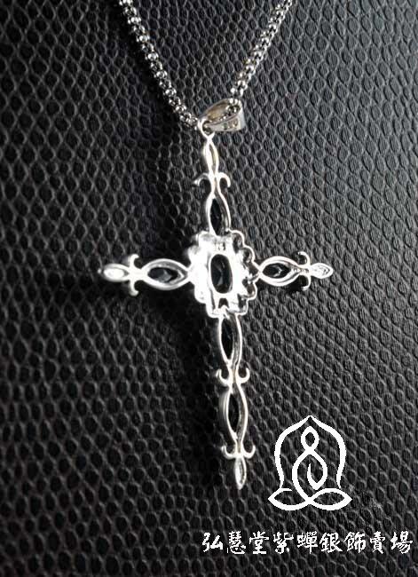 【弘慧堂】 925泰銀鑲馬克賽十字架 天主教聖物 耶穌基督 聖母瑪利亞