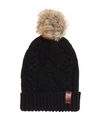 ❖客來兒美國集貨❖ SUPERDRY 極度乾燥 針織 保暖 毛球帽 現貨 交換禮物 最後一頂 賣完不補
