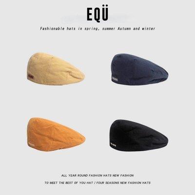 愛麗絲潮牌old-school beret hat反戴貝雷帽棉前進帽復古男女鴨舌帽春夏