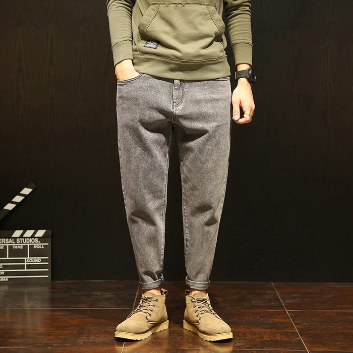 牛仔褲28-42碼大碼哈倫牛仔褲 限價98低於投訴錢塘3015-D5227-P68 低於褲
