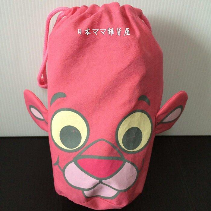 日本帶回 頑皮豹兒童斗篷式雨衣90~100cm