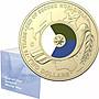 澳洲皇家鑄幣廠 2020 年紀念二戰結束 75 周年 C廠標印記卡 坎培拉 $2 澳洲 2元紀念幣 鴿子 彩色硬幣 卡幣