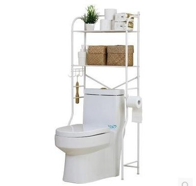 【優上】溢彩年華馬桶置物架落地2層宜家不銹碳鋼置地廁所衛生間收納架子