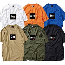 { POISON } LESS SQUARE LOGO TEE 經典回歸2019年度LOGO TEE