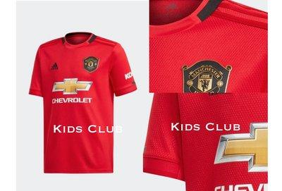 【Kids Club】7/10 NK英國直郵寶寶男童少年大童兒童裝運動足球英國曼聯Adidas運動紅色短袖運動上衣