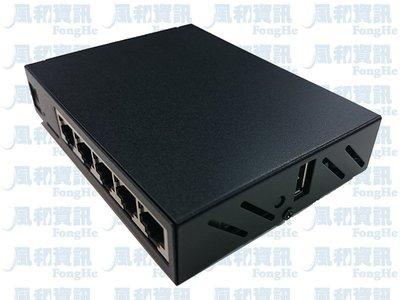 MikroTik RB750Gr3 hEX-M Gigabit 頻寬管理防火牆路由器(鐵殼版)【風和網通】