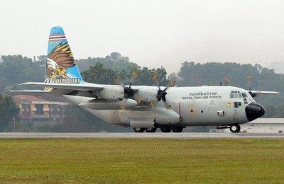 **飛行夢想家**Inflight 1/200 泰國空軍 Thailand Air Force C-130 60108