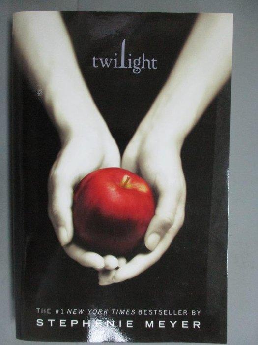 【書寶二手書T8/原文小說_GJF】Twilight_STEPHENIE MEYER