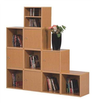 房間必備 收納櫃 層櫃 塑鋼單格有門櫃(5)屏東市 廣新家具行