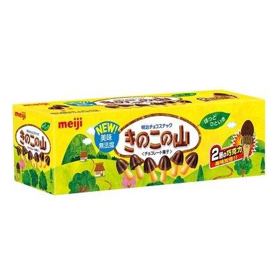 【Visual&M】明治 香菇造型巧克力餅乾 74公克6入 好市多代購 Costco