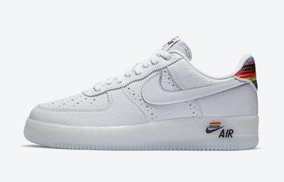 GOSPEL【Nike Air Force 1 'BeTrue' 】彩虹LOGO CV0258-100