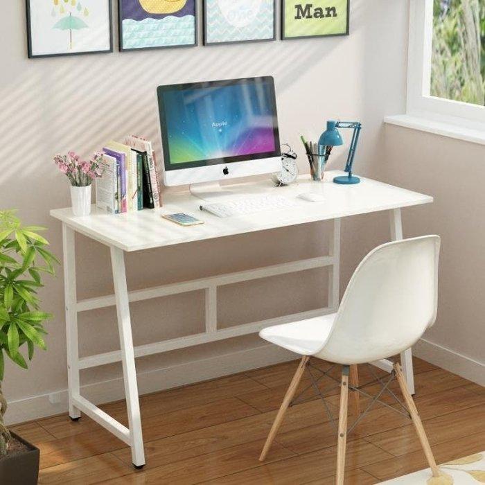 簡約現代電腦桌台式桌家用簡易小書桌辦公桌筆記本電腦桌子寫字台FA
