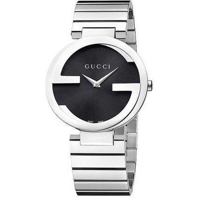 GUCCI 古馳 手錶 義大利 雙G錶殼 鋼帶 對錶 29mm 小尺寸 YA133502