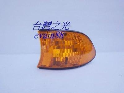 《※台灣之光※》全新BMW E38 98 99 00 01 02年小改款微笑版原廠型晶鑽黃色角燈外銷精品
