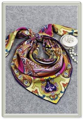 VINI  真絲斜紋大方巾 十一月的肖邦DF-100