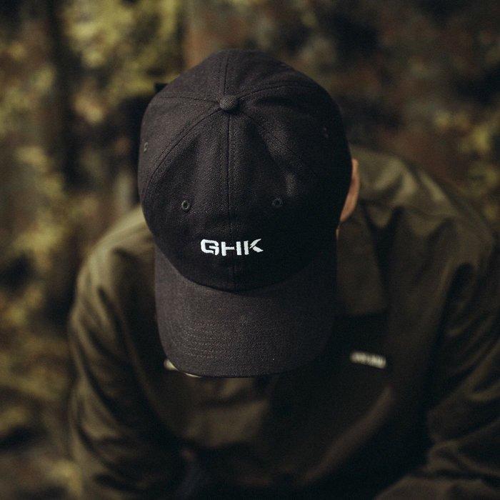 "GHK ""Veteran Collection"" Canvas Low Cap 黑色"