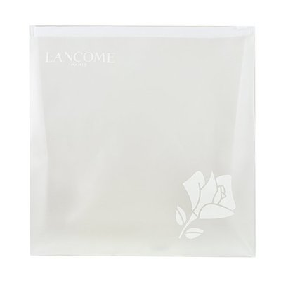 【橘子水】LANCOME 蘭蔻 霧面果凍夾鏈袋/收納袋 (中)