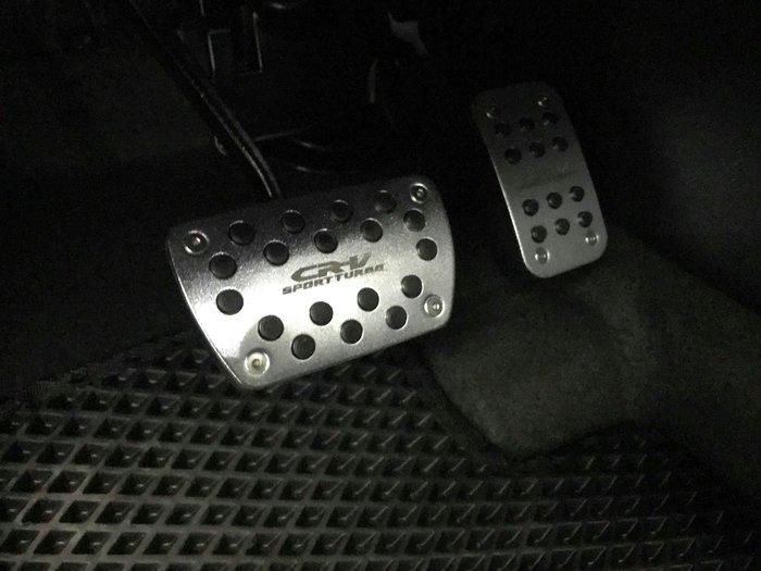 九七八汽車精品 本田 HONDA CRV5 CRV-5 專用 銀色 油門 煞車 踏板組 免修改 免破壞 直接套上即可 !