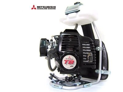 ㊣宇慶S舖㊣ 專業型 MITSUBISHI【日本 KAAZ TB43】引擎 背負式 軟管 割草機