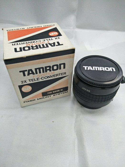 板橋富豪相機Tamron 2X AI手動鏡頭2倍加倍鏡NIKON 專用