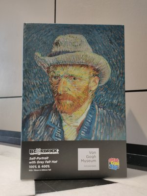 全新未拆 Be@rbrick Van Gogh 400%+100% 梵谷 400%+100%暴力熊 庫柏力克熊 高雄現貨