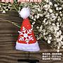 亞筑【現貨】聖誕節髮飾 迷你聖誕帽+彈簧髮...