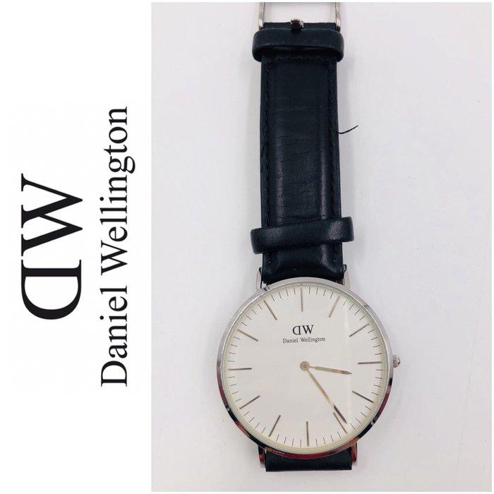 【皮老闆二店】樂718二手真品 Daniel Wellington 瑞典歐美腕錶 DW手錶