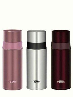 THERMOS膳魔師 最新款 FFM-350 不銹鋼真空保溫瓶 FFM350 350ml。保溫杯(只有咖啡色)