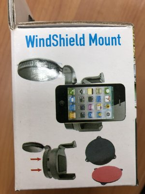 WindShield Mount  迷你旋鈕 手機車架 / 手機架 車用吸盤迷你車架