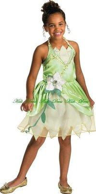 迪士尼經典公主與青蛙蒂亞納公主造型服~萬聖節走秀畢業照~妍媽咪兒童禮服出租