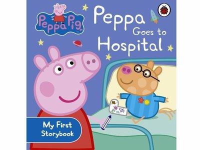 PEPPA PIG: PEPPA GOES TO HOSPITAL /硬頁書