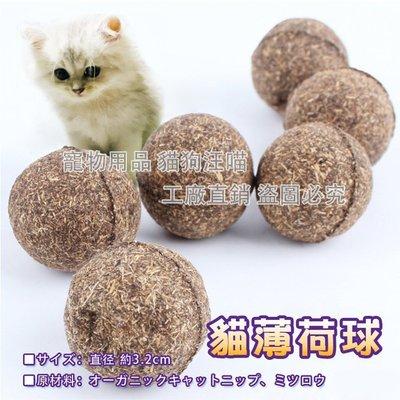 貓薄荷球 貓草球 貓主子最愛 高壓製成 貓薄荷 薄荷球 貓零食 貓薄荷