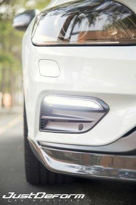 2014-2017 volvo S60 v60 R-design版雙片式碳纖維 前下巴
