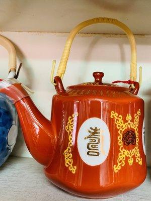 機器人戰場 大同 早期 古物 四角印 紅大同 福壽 茶壺 瓷器