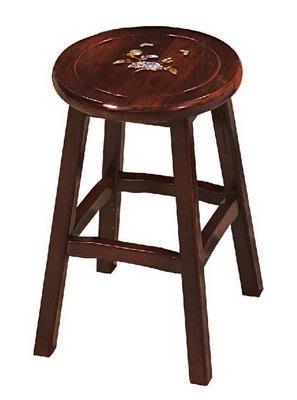 【浪漫滿屋家具】(Gp)604-16 吉品鑲貝圓椅