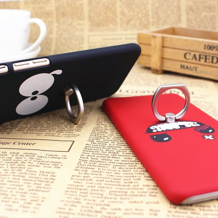 oppo r5手機殼r5手機套r8107保護殼r8109卡通指環支架 硬磨砂外殼充電器保護線耳機繞線器