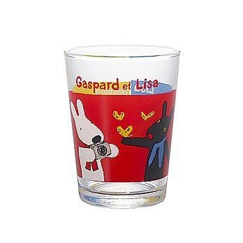 天使熊小鋪~日本HARIO卡斯柏&麗莎蝴蝶迷你水杯-170ml 馬克杯 日本製水杯原價700