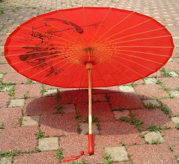 58公分傳統日式傘/工藝傘/彩繪傘(娃菇頭)