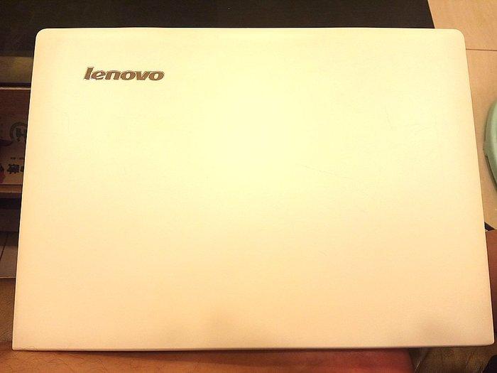 二手lenovo 聯想IdeaPad S410 銀白14吋 i3-4030U 4G/500G HDMI USB3.0筆電